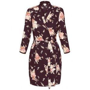 ARITZIA WILFRED | Franca Floral Wrap Tie Dress